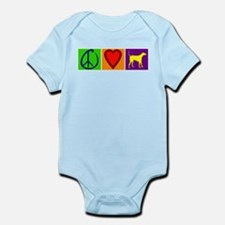 Peace Love Yellow Labs - Infant Bodysuit