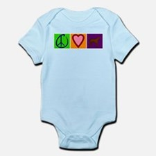 Peace Love Chocolate Labs - Infant Bodysuit