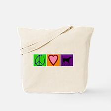 Peace Love Black Labs - Tote Bag