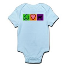 Peace Love Black Labs - Infant Bodysuit