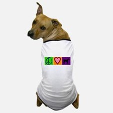 Peace Love Black Labs - Dog T-Shirt