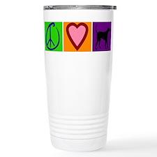 Peace Love Black Labs - Ceramic Travel Mug