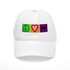 Peace Love Black Labs - Baseball Cap