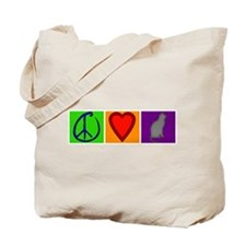 Peace Love Cats - Tote Bag