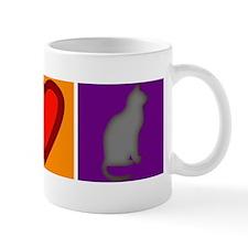 Peace Love Cats - Mug