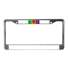 Peace Love Cats - License Plate Frame