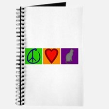 Peace Love Cats - Journal
