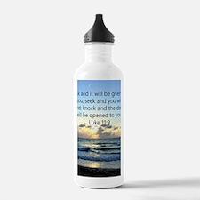 LUKE 11:9 Water Bottle