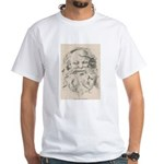 Old Father Christmas White T-Shirt