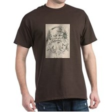 Old Father Christmas Dark T-Shirt