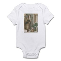 St. Nick with Baskets Infant Bodysuit