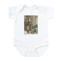 St. Nick with Baskets Infant Bodysuit