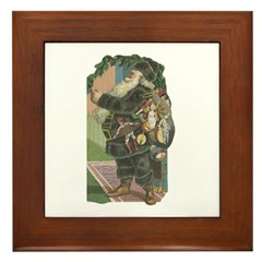 1882 Santa Framed Tile