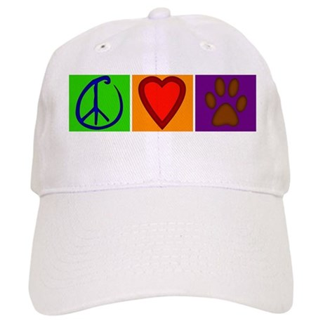 Peace Love Dogs - Cap