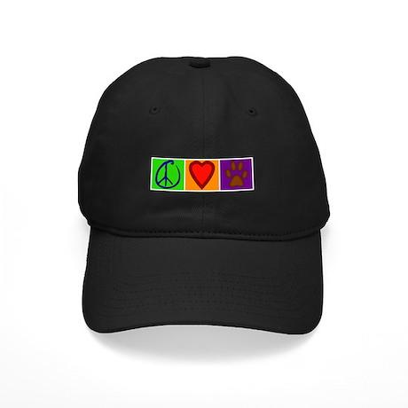Peace Love Dogs - Black Cap