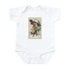 Umbrella Girl Infant Bodysuit