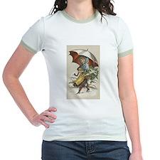 Umbrella Girl Jr. Ringer T-Shirt