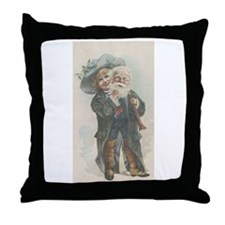 Little Santa Throw Pillow