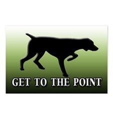 GET TO THE POINT Postcards (Package of 8)