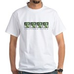 Wine Country Olives White T-Shirt
