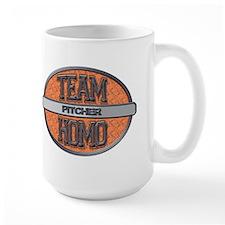 Team Homo Pitcher Mug