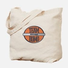Team Homo Pitcher Tote Bag