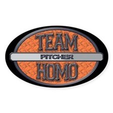 Team Homo Pitcher Decal