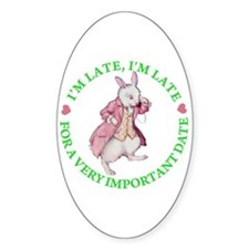 ALICE - FOLLOW ME Oval Decal