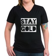 Stay Gold (White) Shirt