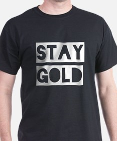 Stay Gold (White) T-Shirt