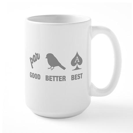 Basic Golf Logic Large Mug