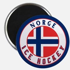 NO Norway/Norge Ice Hockey Magnet