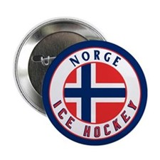 "NO Norway/Norge Ice Hockey 2.25"" Button"