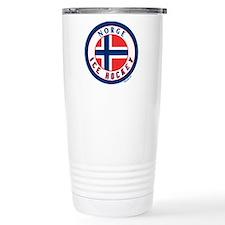 NO Norway/Norge Ice Hockey Travel Mug