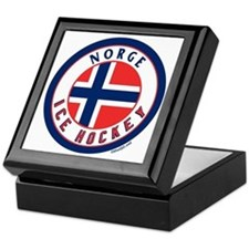 NO Norway/Norge Ice Hockey Keepsake Box