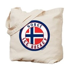 NO Norway/Norge Ice Hockey Tote Bag