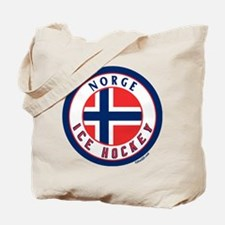 NO Norway/Norge Ice Hockey Tote Bag