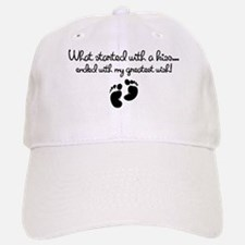 Started With A Kiss Wish Baseball Baseball Cap
