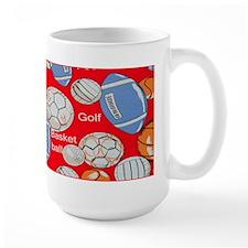 Red Sports Mug