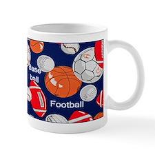 Blue Sports Mug