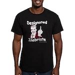 Designated Inebriate Men's Fitted T-Shirt (dark)