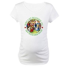 WHO LET BLONDIE IN? Shirt