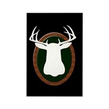 TROPHY BUCK Rectangle Magnet