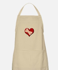 Band Aid Heart Apron