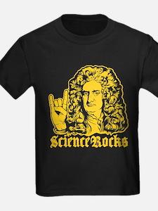 Isaac Newton Science Rocks T