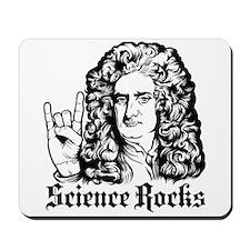 Isaac Newton Science Rocks Mousepad
