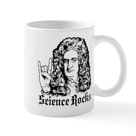 Isaac Newton Science Rocks Mug