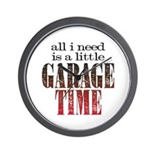Garage Time Wall Clock