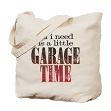 Garage Time Tote Bag