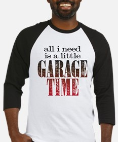 Garage Time Baseball Jersey